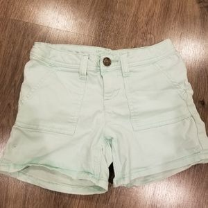 Justice Mint Green Shorts